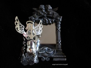 angel and mirror by gail