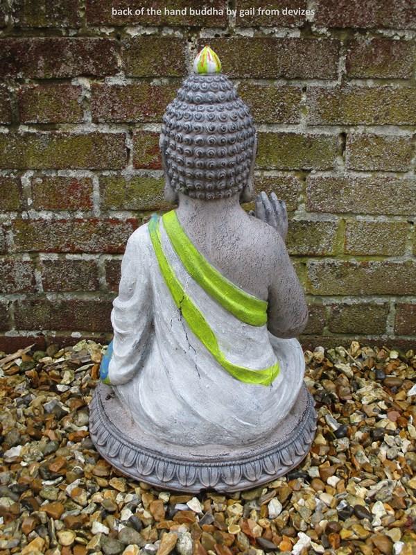 back of the hand buddha