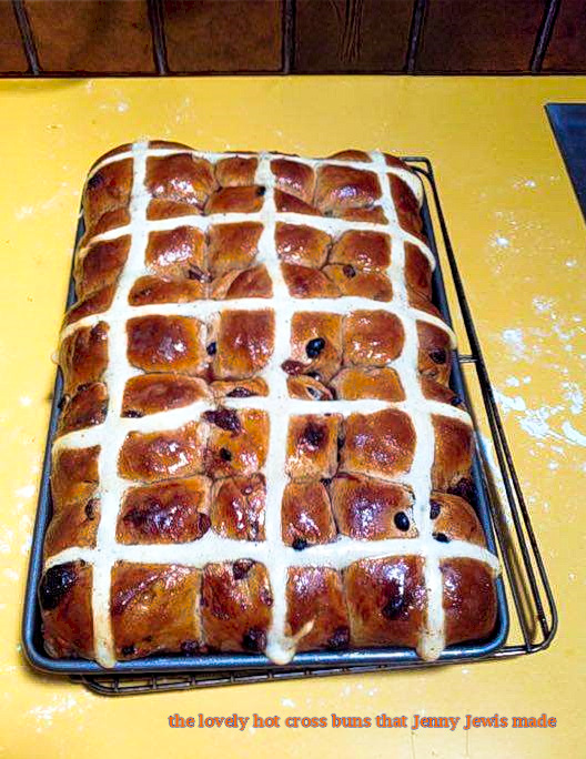 Jenny's Hot Cross buns